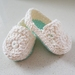 Hand Crocheted Baby Loafers