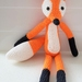 Hand Crocheted Felix the Fox