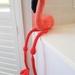Hand Crocheted Fanny the Flamingo