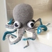 Hand Crocheted Oliver the Octopus