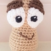 Hand Crocheted Pepe the Peanut