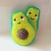 Hand Crocheted Avocado Friends