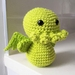 Hand Crocheted Cthulhu