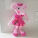 Hand Crocheted Angelina Ballerina