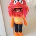 Hand Crocheted Animal Muppet