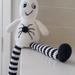 Hand Crocheted Casper the Friendly Ghost