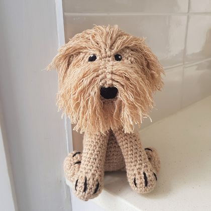 Hand Crocheted Noodle the Cavoodle
