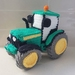 Hand Crocheted Toot the Tractor