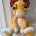 Hand Crocheted Simba the Lion