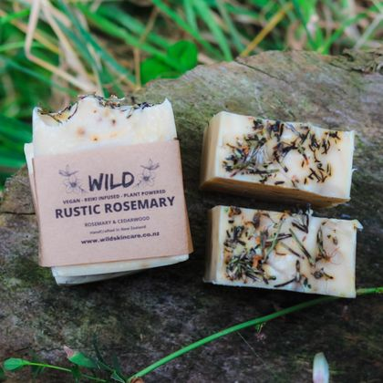 Rustic Rosemary Soap Bar