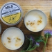 Amber Blossom Candle Tin – Medium (130g)