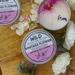 Vintage Flower Candle Tin – Medium (130g)