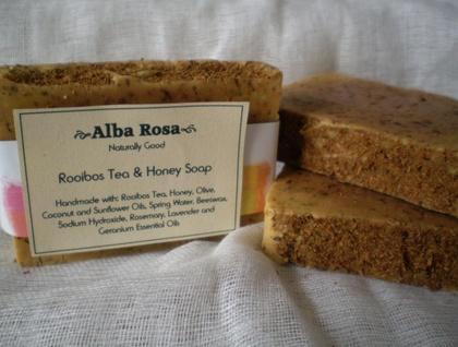 Rooibos Tea & Honey Soap