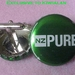 Cuff Links from Beer Bottle Tops Featuring NZ Pure