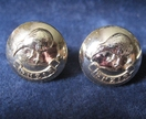 Cuff Links from New Zealand RNZIR Army with Kiwi silvercoloured buttons