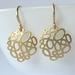 Gorgeous Gold Bubble Short Matte Earrings