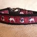 Handmade Pug dog collar