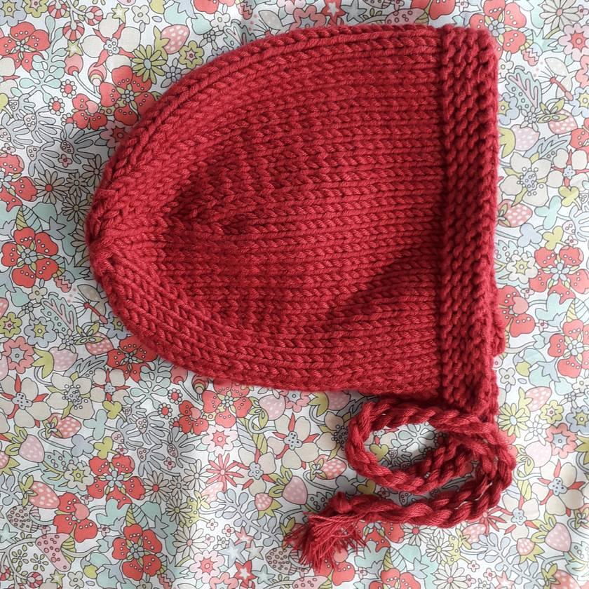 Knitted Cotton Baby Hat