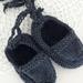 Knitted Woollen Newborn Moccasins
