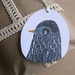 Gift tags - Black Bird - set of 2 tags