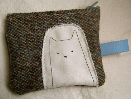 Meow coin purse