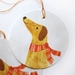 Sweet Little Dog Christmas Gift Tags