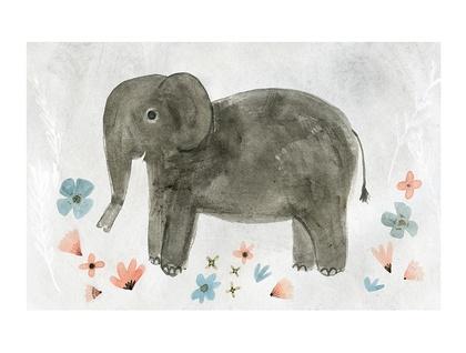 A4 art print - Elephant
