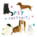 Custom Pet Portrait A4 size