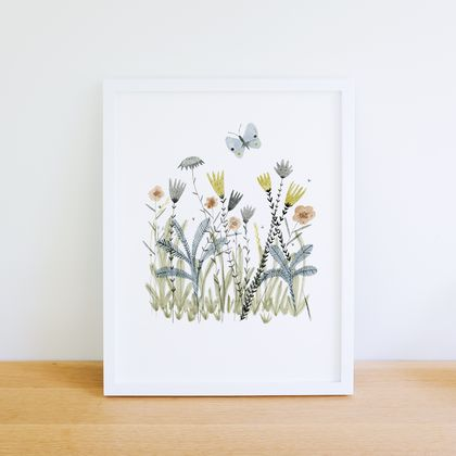 A4 art print - Meadow