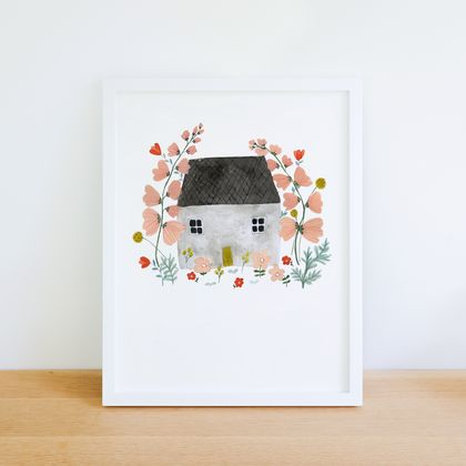 A3 art print - Tiny House