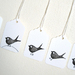 TWEET mini gift tags