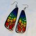 Rainbow Pride Butterfly Earrings