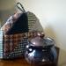 Woollen tea cosy.