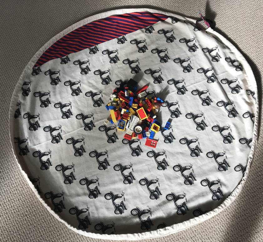 LEGO play mat and storage bag