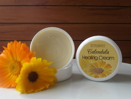 Natural Calendula Healing Cream / original (Great for Eczema)