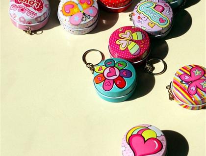 Lip Balm Key ring tin with your choice of lip balm!