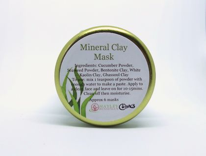 Mineral Clay Mask - NZ Natural (exclusive spa quality)