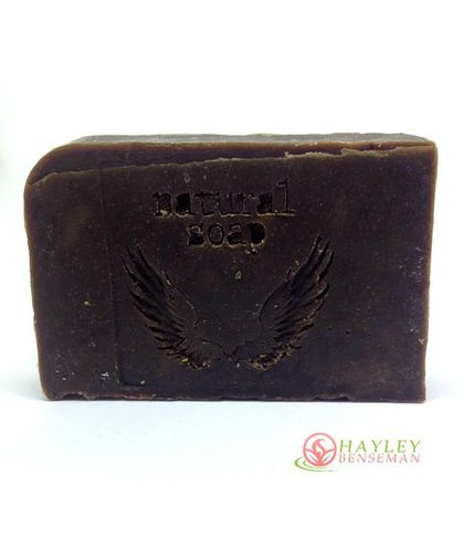 Pine Tar Soap - hand made - cold pressed x 1