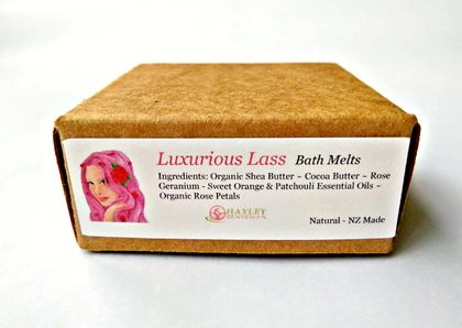 Luxurious Lass Bath Melts - 4 x pack - eco packaging