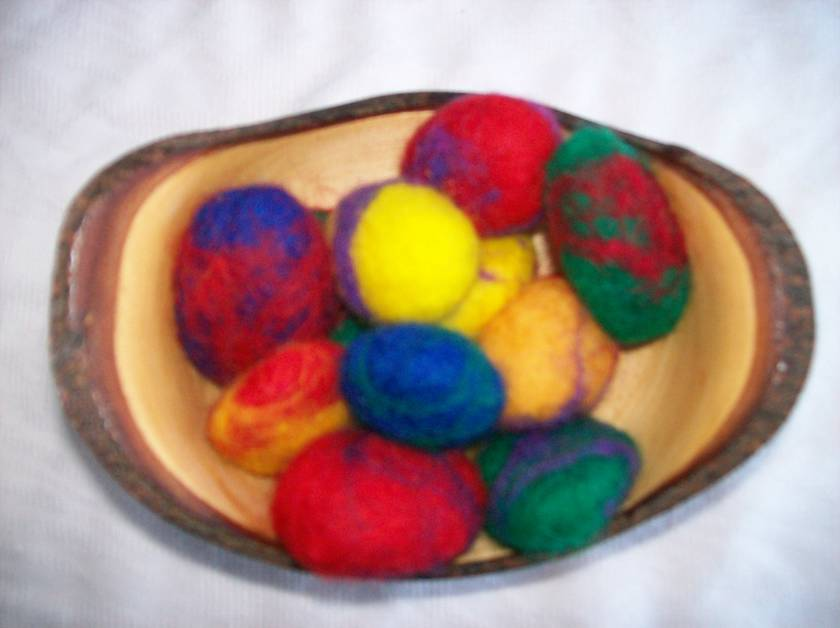 Fairy Stones - Felted Pebbles