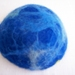 Felted Bowl - Blue Heart