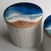 """Eastern  Beach""  Ceramic Storage container"