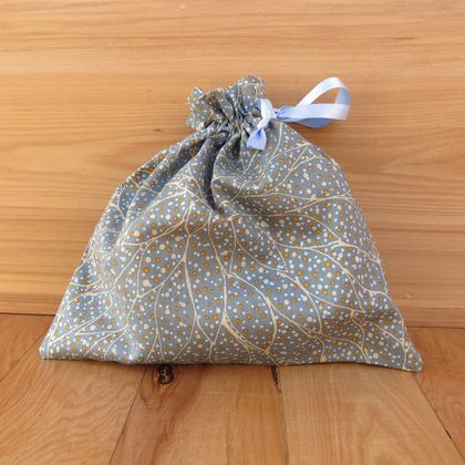 Fabric gift bag - Spots S