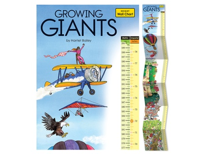 Growing Giants height chart