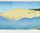 Ebb Tide, Hokianga Heads - print by Allan Gale