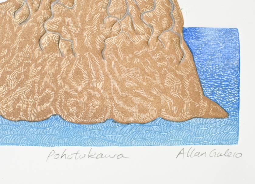Pohutukawa - print by Allan Gale