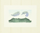 East Wind, Pakanae - print by Allan Gale