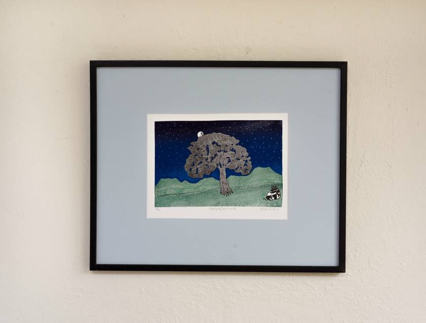 Starlight print by Allan Gale