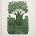 Te Matua Ngahere - print by Allan Gale
