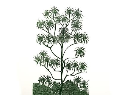 Neinei print by Allan Gale